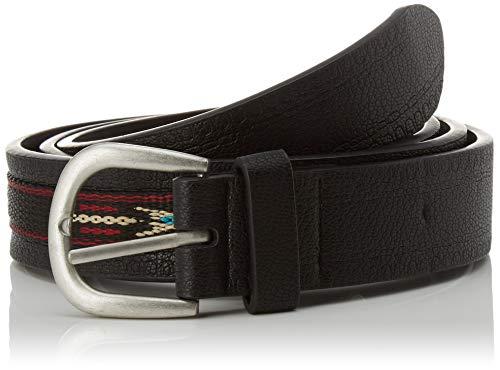Springfield 5.T.Cinturón.Boho-C/01 Cinturón, Negro (Black 1), 95 (Tamaño del fabricante: 95) para Mujer