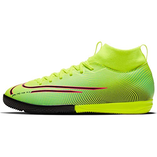 Nike JR Superfly 7 Academy MDS IC - Yellow-Green 2