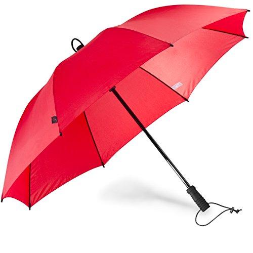 EuroSCHIRM Swing handsfree Regenschirm rot