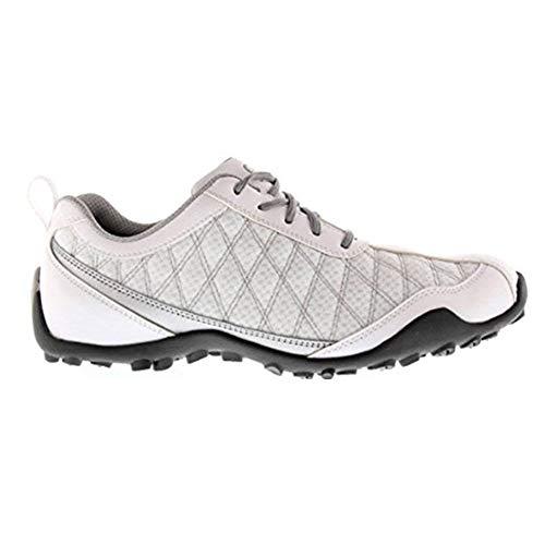 FootJoy Superlites Women's Golf Shoes 98819 White/Silver 7.5 Medium