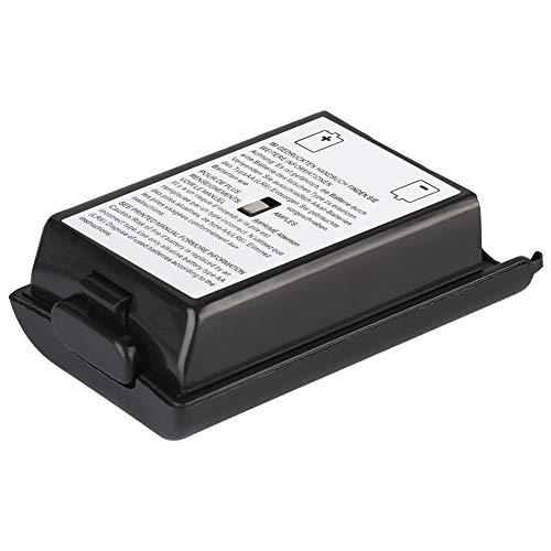 Coperchio della batteria, kit di copertura della custodia a conchiglia universale facile da installare per controller della console di gioco(Nero)