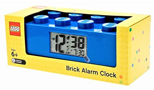 Réveil lumineux Brique Bleue LEGO 9002151 pour enfant