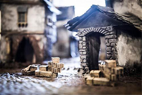 3D Puzzel Voor Volwassenen 35 Stukjes, Houten Gebouw Landschap Puzzel, Puzzelspel Voor Kinderen, Bijzondere Fotografie, Houten Fotolijst