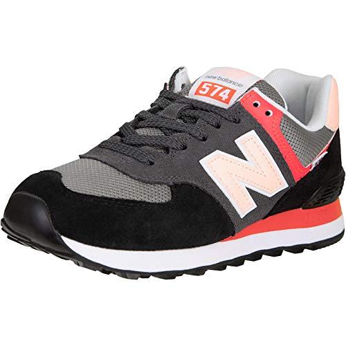 New Balance NB 574 - Zapatillas para mujer, color Negro, talla 40 EU