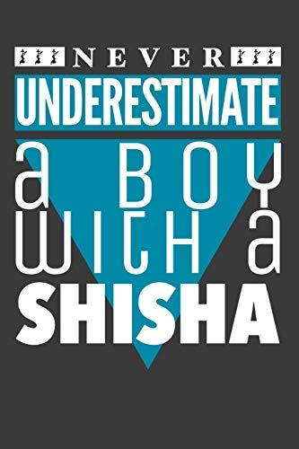 SHISHA: A5 blanko I Agenda Journal I gebunden I 120 Seiten I Softcover I matt I Shisha Geschenk