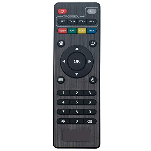 VINABTY Remote Control replacement fit for T95M T95N Android TV Box MXQ, MXQ PRO, MXQ-4K, MBOX, X96, X96 Mini, M8, M8C, M8N, M9C, M10, T95M, T95N, T95X, MX9 Amlogic S805 & S905 Android TV Box