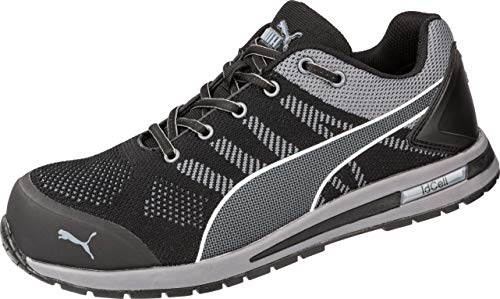Puma PU160E40, Zapatillas de Atletismo Unisex Adulto, Nero/Grigio, 40 EU