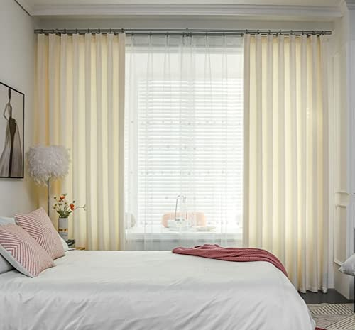 AIMM Modern Flax Blackout Curtain for Minneapolis Mall Luxury Insulated Bedroom Thermal