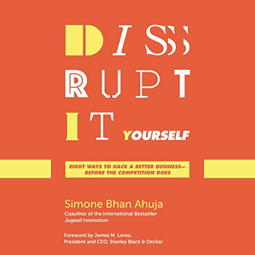 Disrupt-It-Yourself audiobook cover art