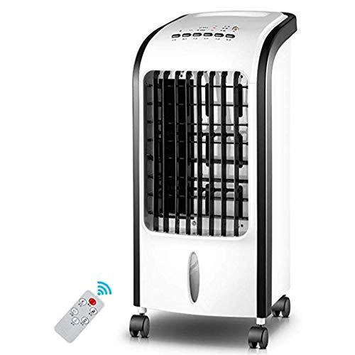 WTTL Air cooler 3-In-1 Tragbarer LuftküHler, Mobile Klimaanlage Leise Befeuchtung KüHlung 4L Wassertank FüR Schlafzimmer Wohnzimmer (Schwarz Und Weiß)