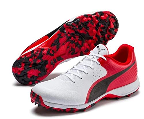 PUMA Cricket Shoes (10) Red