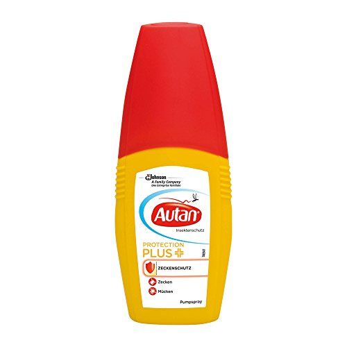 Autan Protection plus Zeckenschutzspray, 100 ml