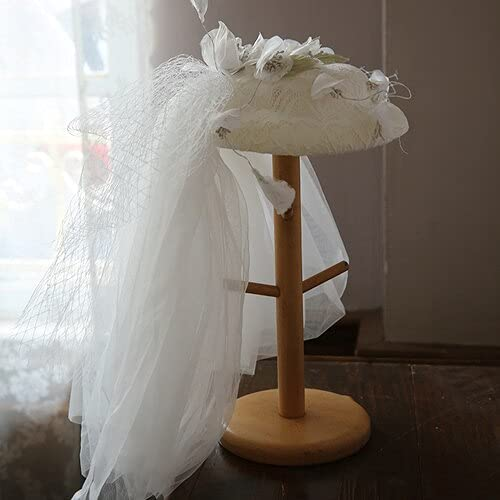 Ranking TOP10 chenfeng Bridal Veil hat European White Wedding with Lo Super sale period limited Mini Hat