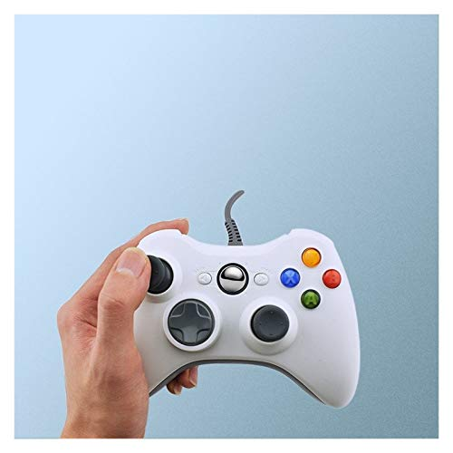 Juegos de PC DATOS DE LA RANA conexión de cable USB Gamepad for Xbox 360 / Delgado controlador for Windows 7/8/10 soporte técnico de Microsoft Controlador de PC for el juego de vapor Controlador de ju
