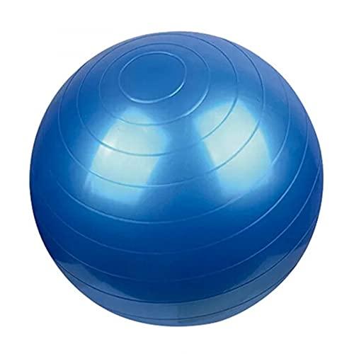 DDH Bola de Fitness, Bola de Yoga a Prueba de explosiones, Bola Suiza de 55-95 cm con Bomba rápida, Yoga, Pilates, Bolas de Parto están Disponibles en una Variedad de Colores-Blue||55cm