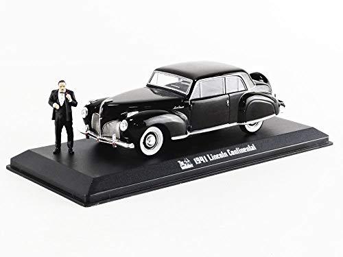Greenlight - Coche en Miniatura de colección, 86552, Color Negro