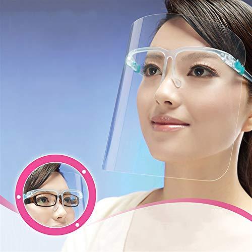 CXZ Anti-Saliva Masker, Anti-mist en Anti-rook Transparante kunststof bescherming masker voor buiten en keuken