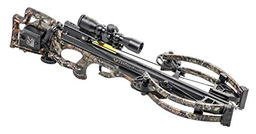 TenPoint Shadow NXT Crossbow Package with Pro-View 2 Scope, Quiver, and Arrows and ACUdraw(CB18018-5822), Black