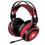 Razer Nari Ultimate Wireless 7.1 Surround Sound Gaming Headset: THX Audio & Haptic Feedback - Auto-Adjust Headband - Chroma RGB - Retractable Mic - For PC, PS4 - PewDiePie Limited Edition