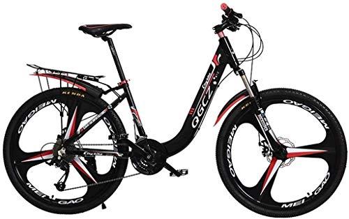 Fahrräder im Freien Spielraum-Fahrraderwachsene Fahrrad Mountainbike Studentenwettbewerb Auto Studenten Rennrad Kinder-Fahrrad (Farbe: Schwarz, Größe: 24 Zoll) lalay ( Color : Black , Size : 24inch )