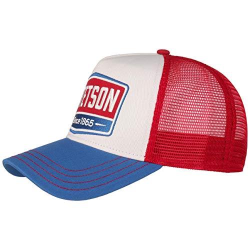 Stetson Gorra Highway Trucker Mujer/Hombre - de Malla Beisbol Snapback Cap Snapback,...