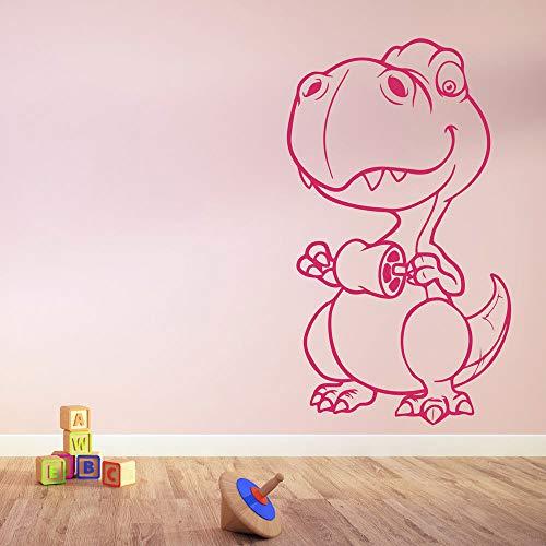 Tianpengyuanshuai baby cartoon oertijdse dinosaurus muursticker decoratie kinderen familie kunst decals verkrijgbaar in verschillende kleuren