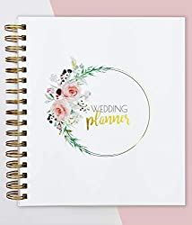 UNISEX PLANNER – 💛The only wedding planner on the UK market that is unisex HAND PAINTED DESIGN – 💛The planner was designed by a team of designers and artists to give it a handmade and elegant look. The flowers on the front cover were hand-painted usi...