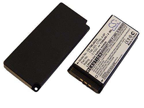 vhbw Batería extendida compatible con Nintendo DSi, NDSi, NDSiL consola de juegos,...