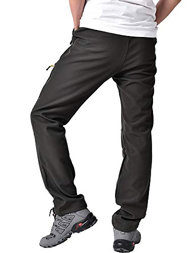 Jessie Kidden Mens Hiking Cargo Trousers Convertible Quick Dry Lightweight Zip Off Outdoor Fishing Travel Safari Walking…