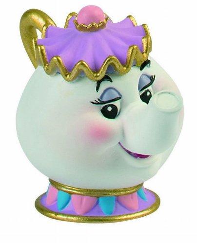 Bullyland 12474 - Spielfigur - Walt Disney Die Schöne und das Biest - Madame Pottine, ca. 6 cm