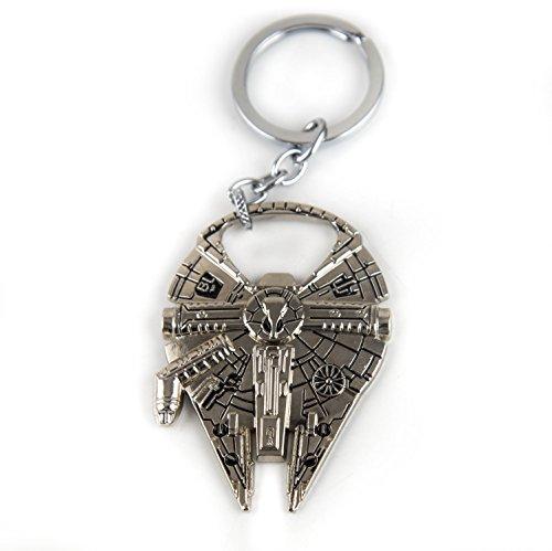Lzy store-Star Wars Millennium Falcon-Llavero o Abrelatas () plata