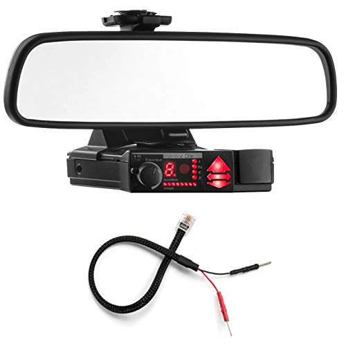 Lowest Price! Radar Mount Mirror Mount Bracket + Mirror Wire Power Cord - Valentine V1 Radar Detecto...