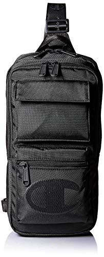 Champion Unisex-Adult's Stealth Sling Strap Pack, black, One Size