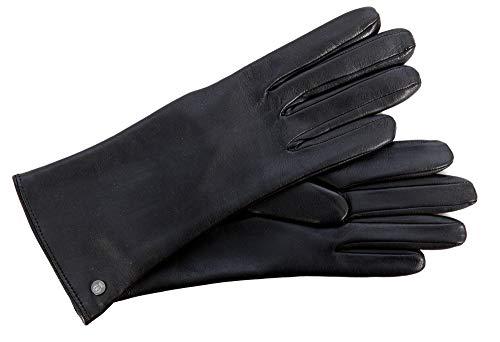 Roeckl Damen Handschuhe Nappaleder schwarz Gr. 7,5