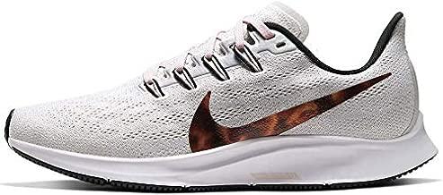 Nike Women's Air Zoom Pegasus 36 Running Shoes (Vast Grey/Multi-Color-Black, 8)