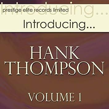 Introducing... Hank Thompson, Vol. 1