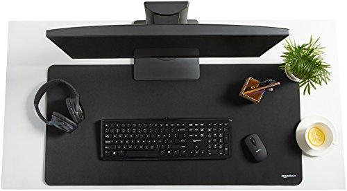 Amazon Basics Großes Gaming-Mauspad, Computer, verlängert, Schwarz - 2