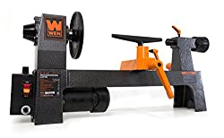 The WEN 3420 wood lathe suitable for small workshops