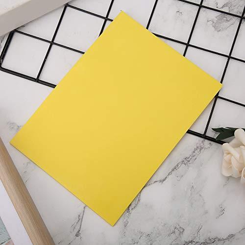 Stempelblock dünnes DIY-Werkzeug 6 Farben Weichgummi für Bastelprojekt(yellow)