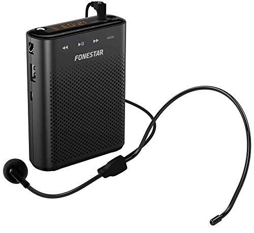 FONESTAR Amplificador Portatil USB-microsd-mp3