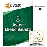 Avast Breach Guard - Protección en línea contra la filtración de datos confidenciales - Software para descargar | 1 Dispositivo | 1 Año | PC/Mac | Código de activación enviado por email