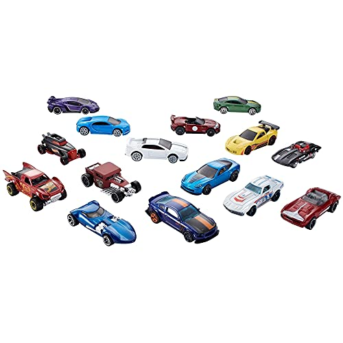 Hot Wheels Coleccionista Pack 5 coches de juguete, regalo para niños +3 años, modelos surtidos (Mattel GXB16)