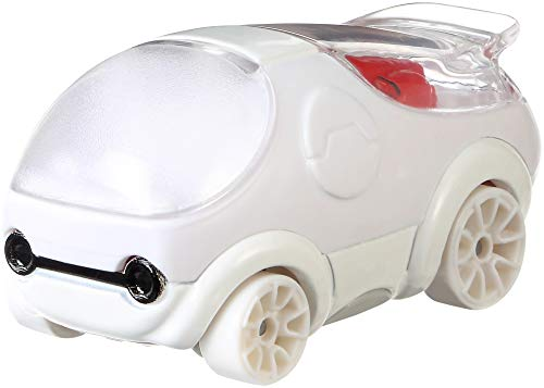 Hot Wheels FYV99 Disney Character Car Baymax - Riesiges Robowabohu (Maßßstab 1:64)