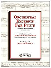Orchestral Excerpts for Flute with Piano Accompaniment, Revised Edition