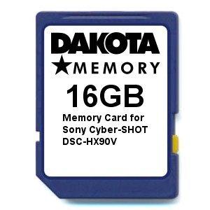 Dakota 16GB Memory Card for Sony Cyber-Shot DSC-HX90V