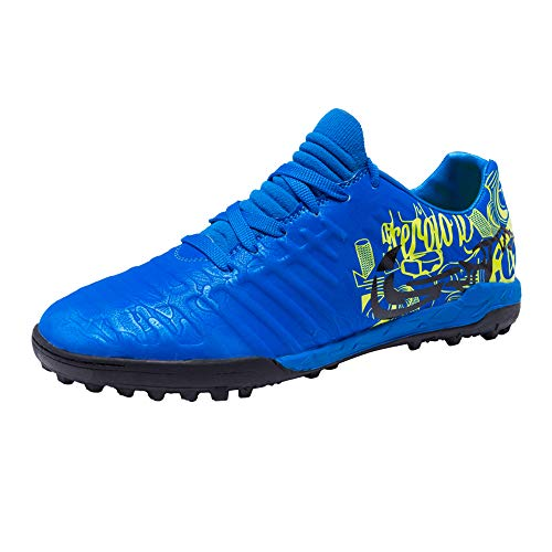 iFANS Mvlsoct Men Athletic Outdoor/Indoor Soccer Shoes Cleats Football Boots Shoes