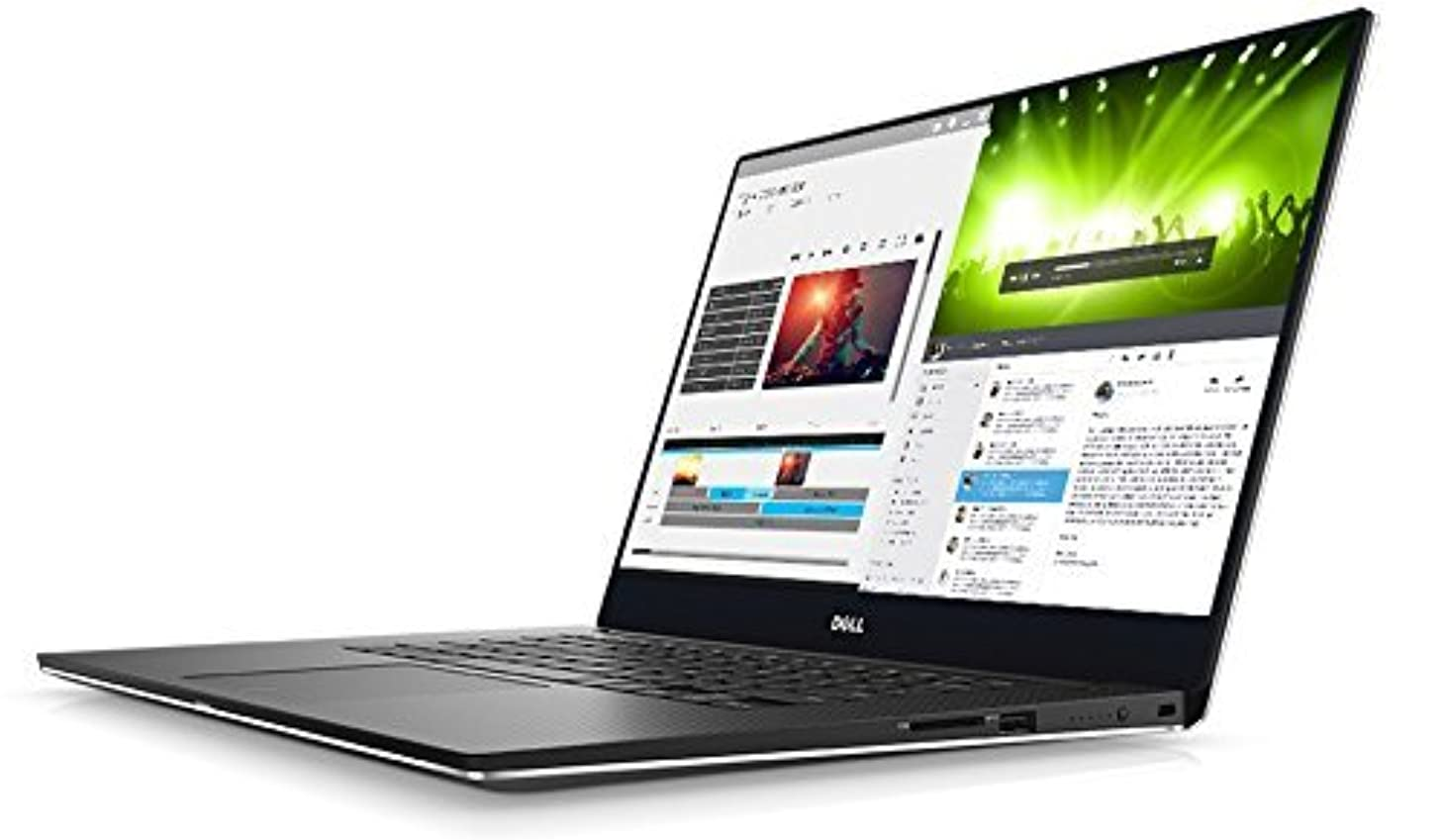 DELL 2017  XPS 9560 7th Gen Intel Core i7-7700HQ (6M cache, up to 3. 8 GHz) Windows 10 Pro 64-bit 8GB 2400MHz, DDR4 LCD 15. 6