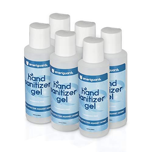 Ameriguardrx Alcohol Based Hand Sanitizer Gel, 3.4 Fl oz /...