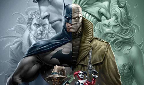 Batman Hush Movie Poster, Movie Print, Movie Wall Art, Movie Poster, Movie Studio Decor, Gift for Movie Lover, Art Gift for Lover