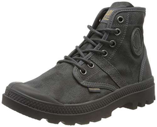 Palladium Men's Combat Boots Ankle, French Metal Forged Iron, 6
